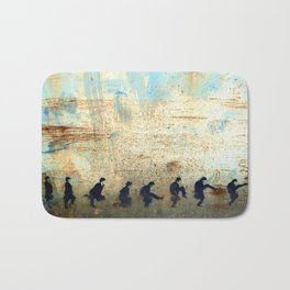 Ministry of Silly Walks Bath Mat
