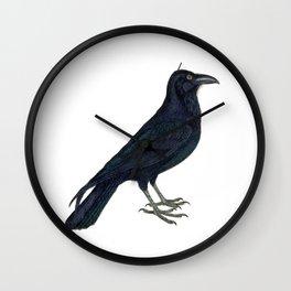 Hark! The Raven Cries! Wall Clock