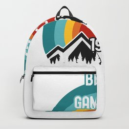 Gift For Gam Gam, Best Gam Gam Since 1987 Backpack