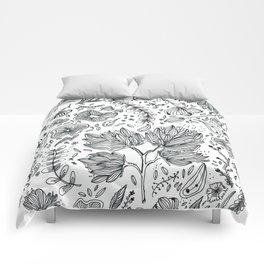 Flowering II Comforters