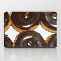 donut iPad Cases featuring Donut by Kelly Sweet
