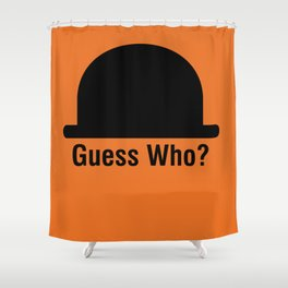 Guess Who? Shower Curtain
