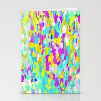 confetti Stationery Cards featuring Confetti  by Maggie Dylan