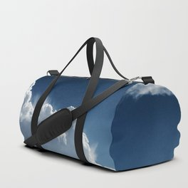 Sky, clouds and lights. Duffle Bag