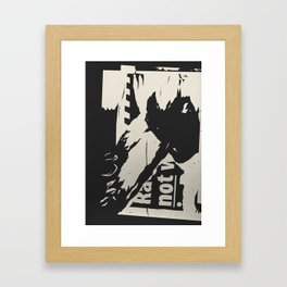Urban decay 5 Framed Art Print