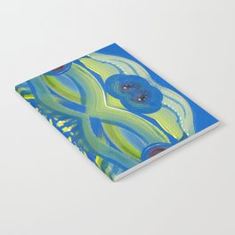 Transitions - Waves of Temporary Tranquility Notebook