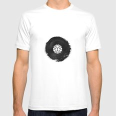 Surrounded by Sound Mens Fitted Tee White MEDIUM