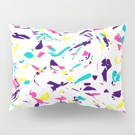 Colorful Madness Pattern Pillow Sham