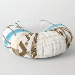 Surfer's Boardwalk Floor Pillow