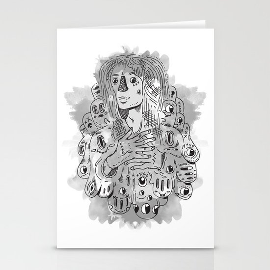 """""""I Never Learn"""" by Jacob Livengood Stationery Cards"""