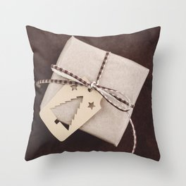 Christmas gift Throw Pillow