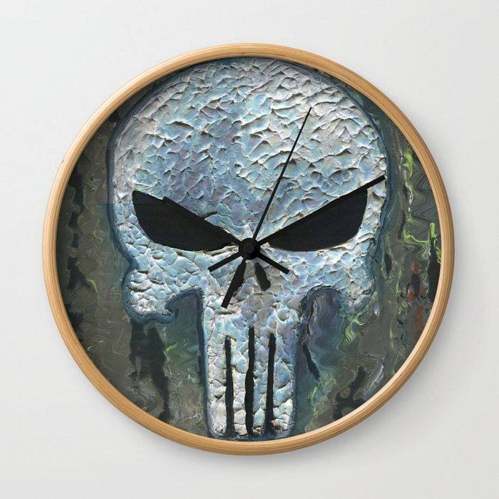 Punisher Wall Clock