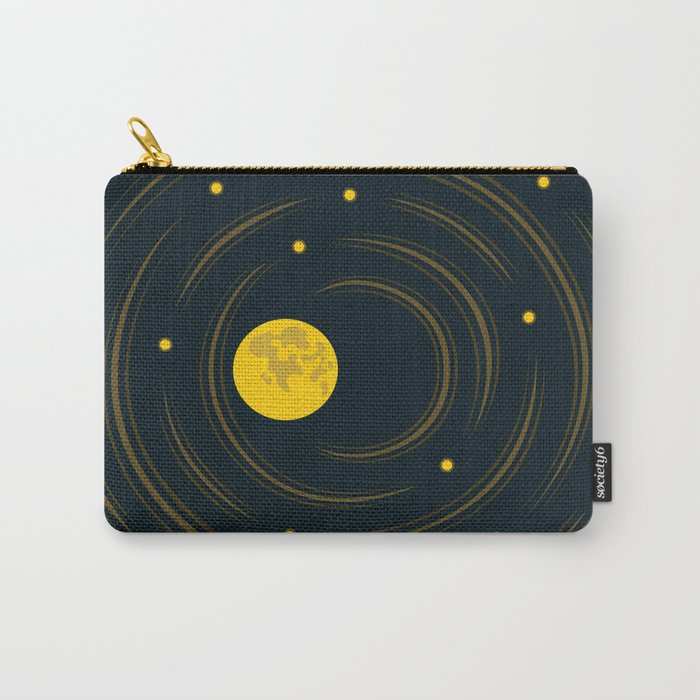 Moon And Stars Dream Carry-All Pouch