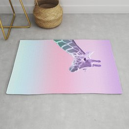 Unicorn Mermaid Giraffe Dream #1 #dreamy #decor #art #society6 Rug