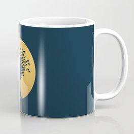 Woman and Butterflies Coffee Mug