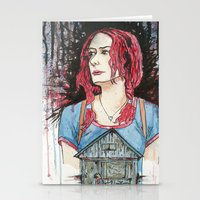 eternal sunshine of the spotless mind Stationery Cards featuring Eternal Sunshine of the Spotless Mind by Charlie Thomason