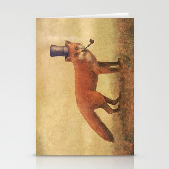 Crazy Like a Fox  Stationery Cards