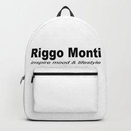 Riggo Monti Design #6 - Inspire Mood & Lifestyle (Key Phrase) Backpack