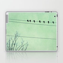 Birds on a Wire, no. 7 Laptop & iPad Skin