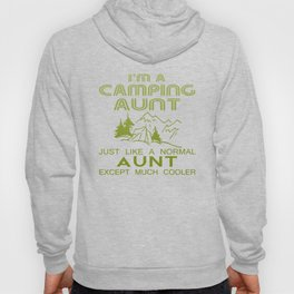 Camping Aunt Hoody