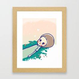 a little star Framed Art Print