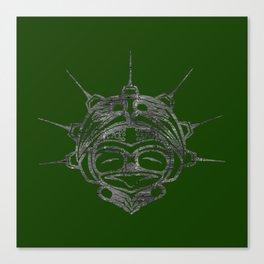 Smoke Frog Grass Canvas Print