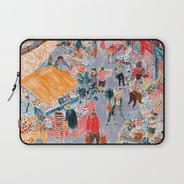 Columbia Road Flower Market Laptop Sleeve