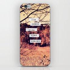 Wide Open Spaces II iPhone & iPod Skin