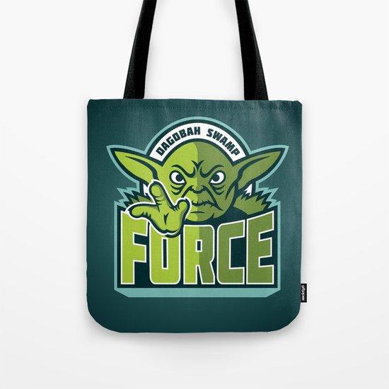 Dagobah Swamp Force - Teal Tote Bag