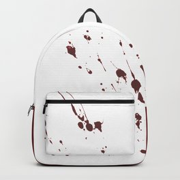 the classics .. blood splatter Backpack