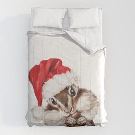 Christmas Squirrel Comforters