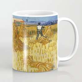 Corn Harvest in Provence by Vincent van Gogh Coffee Mug