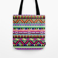 antique Tote Bags featuring OVERDOSE by Bianca Green