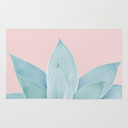 Blush Agave #2 #tropical #decor #art #society6 Rug