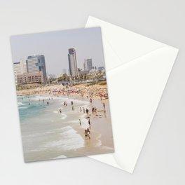 Tel Aviv Beach Day Stationery Cards