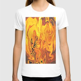 Abstract Painting X 5 T-shirt