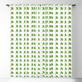 Broccoli Painting Eat Your Veggies Series Blackout Curtain