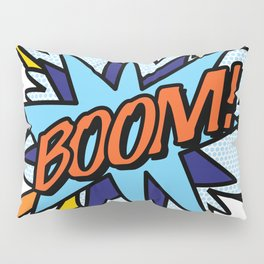 Comic Book Pop Art BOOM Pillow Sham