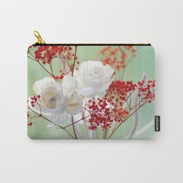 White Rose for you Carry-All Pouch
