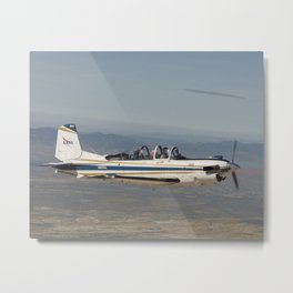 1029. NASA's T-34 Aircraft  Metal Print