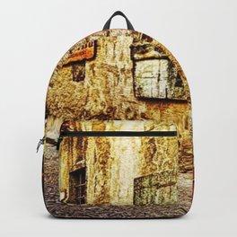 Tuscany, Italy Street Scene Backpack