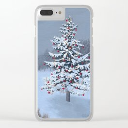 Christmas Eve 2015 Clear iPhone Case