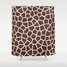 Gornel Giraffe Shower Curtain