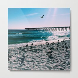 Emerald coast Metal Print