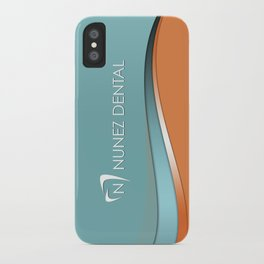 Nunez Dental Logo iPhone Case