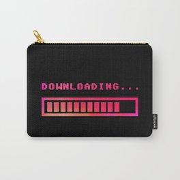 Downloading progress bar 8-bit hue Carry-All Pouch