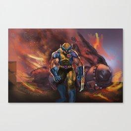 Sentinel Down Canvas Print