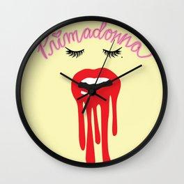 Primadonna x3 Wall Clock