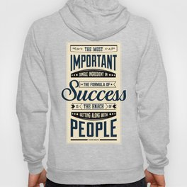 Lab No. 4 The Most Important Theodore Roosevelt Motivational Quotes Hoody
