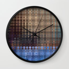 Life in the City Wall Clock